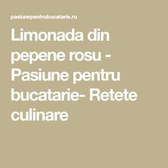 Limonada din pepene rosu - Pasiune pentru bucatarie- Retete culinare Math Equations