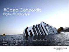 Costa Concordia & Digital Crisis Management - The first 48 hours First 48, The One, Costa, Management, Digital, Psychics