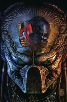 eXpertComics offers a wide choice of products, like the Predator Vs. Aliens Ms) Visit eXpertComics' website to discover thousands of collectibles. Predator Movie, Alien Vs Predator, King Kong, Alien Photos, Judge Dredd, Alien Art, Comic Movies, Cultura Pop, Dark Horse