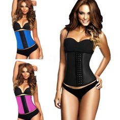 Cheap belt parts, Buy Quality corset blue directly from China belt mobile phone holders Suppliers:            Sexy Shaped Steel Three Breasted Tight Corset Belt Women Body Shaper Waist Clincher Corset Waist Traine