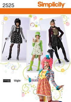 Simplicity Sewing Pattern 2525 Misses Costumes, RR (14-16-18-20) Simplicity Creative Group Inc - Patterns http://www.amazon.com/dp/B004N3AULY/ref=cm_sw_r_pi_dp_fox1tb1C11TBZEGK