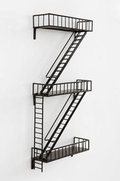 Fire Escape Wall Shelf - Urban Outfitters