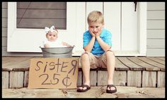 """""""new sibling for sale"""" photo idea  --  Shemele Hodges Photography"""