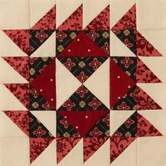American Patchwork & Quilting® 2012 Mystery Quilt block 1   AllPeopleQuilt.com
