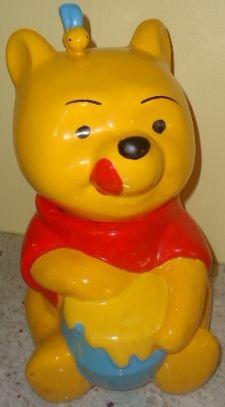 Charming Disney Winnie the Pooh cookie jar  www.jazzejunque.com  $110.00