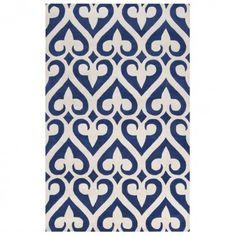 Blue Fleur de lis Carpet, want this for my closet!!!!!!!!!