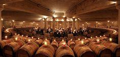 Maybe Lafite's cellar is prettier than Frassinello?