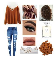 """""""Untitled #66"""" by royal-cookie on Polyvore featuring WithChic, adidas and Chanel"""