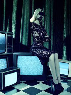 "kill your television | ""So Stylish!"" by Miles Aldridge for Vogue Italia Setember 2010"