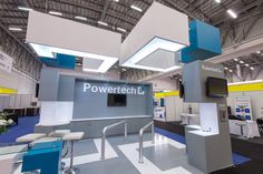 Powertech Stand we designed for the #PowerGenAfrica #Conference  #oblongarchitecture #expostanddesign #blueandwhite