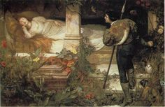 "Edward Frederick Brewtnall  (British, 1846 - 1902), ""Sleeping Beauty"""
