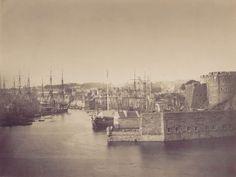 Entrée du port de Brest, à marée haute, 9-12 août 1858. Photographie : Gustave Le Gray