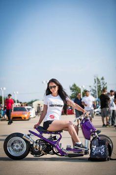 Honda Ruckus | Albert's Lambo Ruckus & Lauren Murata