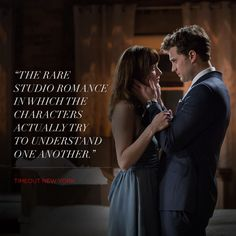 """The rare studio performance in which the characters actually try to understand one another."" - Timeout New York, quote. 