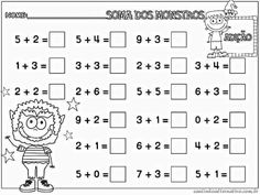 What is Mental Math? Well, answer is quite simple, mental math is nothing but simple calculations done in your head, that is, mentally. Preschool Math, Preschool Worksheets, Kindergarten Math, Math Activities, First Grade Worksheets, 1st Grade Math, Math For Kids, Fun Math, Teaching Kids