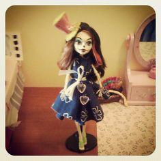 Dress for Monster High #SkelitaCalaveras