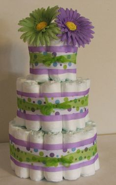 So going to make this! Baby Shower Crafts, Baby Shower Parties, Baby Shower Decorations, Shower Gifts, Polka Dot Theme, Diy Diaper Cake, Elephant Theme, Elephant Baby Showers, Baby Wedding