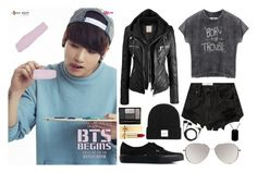 """""""Jungkook ideal type"""" by emmasusannaaa ❤ liked on Polyvore featuring Abercrombie & Fitch, Vans, ASOS, Guerlain, Yves Saint Laurent, Sennheiser and CO"""