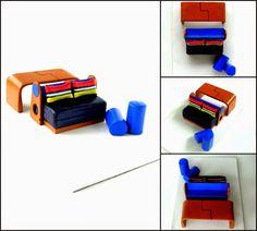 O trabalho da maquete já foi muito bacana, agora imagina o Studio Piegina fabricar a miniatura da miniatura ! Miniatura de Mobiliário - Escala 1/25  - Projeto da Designer Hélen Vanessa Kerkhoff