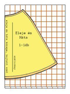 ee864d8a84 Szoknya szabásminta készítés 3. Harangszoknya szabása csíkos és kockás  anyagból szabásminta szoknya szabásminta szoknya szabásminta