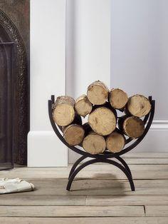 46 best indoor log holder images fire places firewood storage rh pinterest com