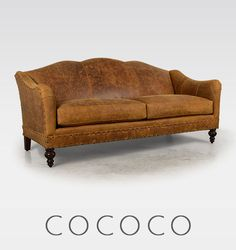 English Arm Tight Back Leather Sofa | Couches | Pinterest | Leather Sofas,  Arms And English