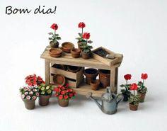 Mini mesa jardin