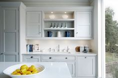 Tom Howley | Grey painted shaker kitchen