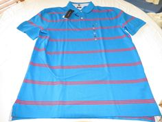 Men's Tommy Hilfiger Polo shirt  logo 7871410 Imperial Blue 534 XL Classic Fit #TommyHilfiger #polo