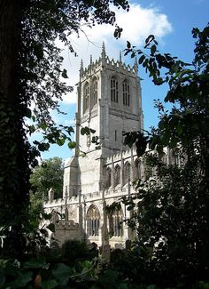 The church was built in the century, and its tower and crocketed spires make it one of the most splendid Perpendicular churches in South Yorkshire. South Yorkshire, 12th Century, Family History, Saints, Tower, Mary, Inspired, Beautiful, Rook