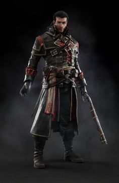 UbiWorkshop Store - Assassin's Creed Rogue - Shay Vest, US$94.99 (http://store.ubiworkshop.com/assassins-creed/hoodies/shay-vest)