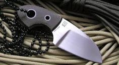Image result for neck knife 3 finger