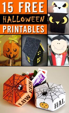 FREE printables make it easy to turn any sweet into a festive Halloween treat!