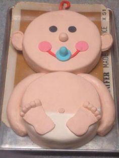 Baby Cakes!!  baby shower cake :)