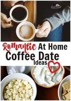 Need a date night, but can't sneak away to your favorite coffee shop? Find some ideas here for a fun and romantic coffee date! Warm up your marriage and your partner with your favorite coffee and some fun with an at home coffee date! Marriage Romance, Marriage Advice, Marriage Help, Bed Romance, Romance Tips, Failing Marriage, Biblical Marriage, Marriage Goals, True Romance