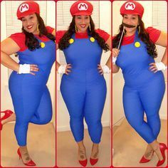 2016 Plus Size Halloween Costume Ideas for Women You'll Actually Want To Wear! Halloween Costumes Plus Size, Unique Couple Halloween Costumes, Halloween Fashion, Halloween Party, Halloween Ideas, Halloween Magic, Halloween 2016, Women Halloween, Adult Halloween