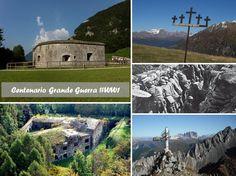 A 100 anni dalla Prima Guerra Mondiale, un'occasione per scoprire i numerosi luoghi della memoria, come fortificazioni e musei, situati nei diversi ambiti del Trentino… per non dimenticare!  #trentinoaltoadige #centenario #ww1 #sentierodellapace #Grandeguerra #emozionidelbenessere #forti #trentino