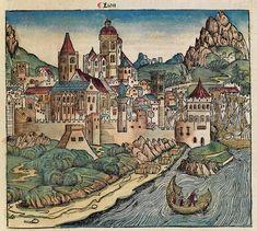 Hartmann Schedel, Schedel'sche Weltchronik, 1493, Lion