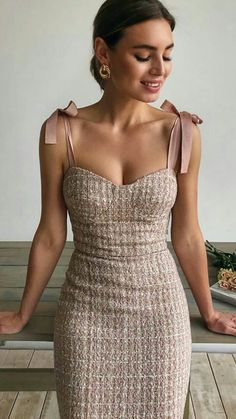Wedding Guest Dresses For Every Seasons & Style Pretty Dresses, Beautiful Dresses, Short Elegant Dresses, Dresses Dresses, Dance Dresses, Dress Up, Bodycon Dress, Gown Skirt, Chic Dress