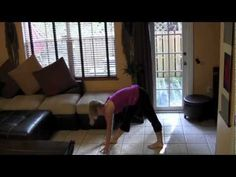 36 min Indoor cardio barre routine - great when you only have small space to workout in!