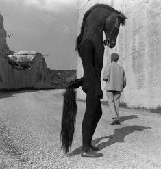 halloween horseman from 1960 jean cocteau film, 'testament of orpheus'
