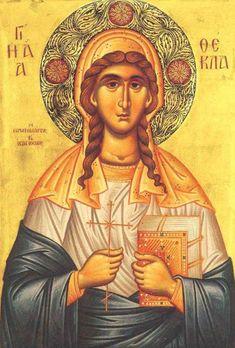 SlAvKo JOVIČIĆ SLAVUJ:  7.10. је Света првомученица Текла равноапостолна