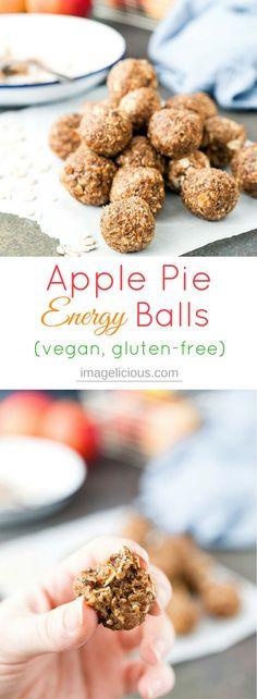 Apple Pie Energy Balls