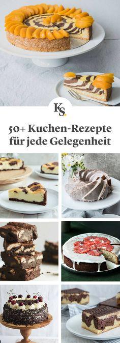 Bei dieser Auswahl an #Kuchen wird garantiert jeder #Bäcker fündig! Von einfach bis anspruchsvoll, #Blechkuchen #Torten #Käsekuchen #Brownies oder Klassiker wie #Donauwelle und #Schwarzwälderkirschtorte, wir zeigen dir, wie du jede erdenkliche Art von Kuchen für dich und deine Gäste backen kannst!