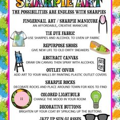 Fun Ways to Make Art with Sharpies - Crafty Morning Italian Sub Salad Recipe - Crafty Morning Oven Cleaning, House Cleaning Tips, Cleaning Hacks, Crafts For Kids To Make, Make Art, How To Make, Plastic Pumpkins, Toilet Paper Roll Crafts, Mason Jar Lids