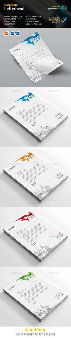 Letterhead on Pinterest - letterhead samples word