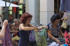 Summer dresses - market day, Nizza Monferrato