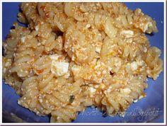 Le Ricette della Nonna: Tortiglioni ricotta e pomodoro Macaroni And Cheese, Ethnic Recipes, Food, Mac And Cheese, Essen, Meals, Yemek, Eten