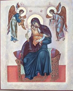 Byzantine Icons, Byzantine Art, Mother Mary, Mother And Child, Virgin Mary, Religious Icons, Art Icon, Orthodox Icons, Sacred Art
