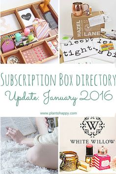 There are always new subscription boxes for women, men, and kids to learn about! Here are the boxes I added to the subscription box directory this month.